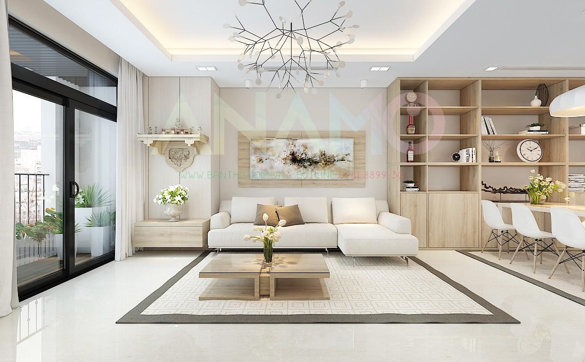 Các tiêu chí lựa chọn và bày trí bàn thờ treo tường cho nhà chung cư