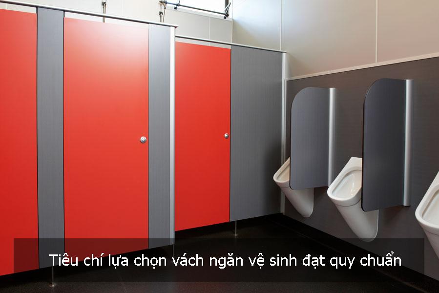 Tiêu chí lựa chọn vách ngăn vệ sinh đạt quy chuẩn